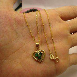 Dây vàng tây mặt trái tim 2