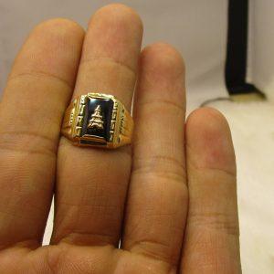 Nhẫn nam vàng tây 10k 2