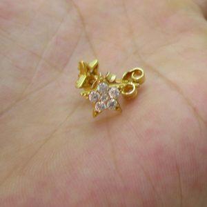 Khuyên tai vàng tây nữ đẹp