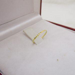 Nhẫn vàng tây nữ ngón út 1