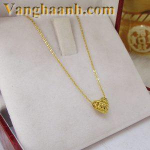 Dây nữ vàng tây trái tim-1