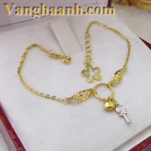 Lắc tay vàng tây chìa khóa-1