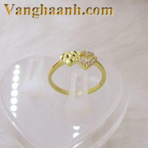 Nhẫn vàng tây tặng người yêu