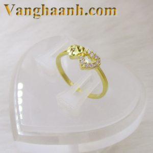Nhẫn vàng tây tặng người yêu-1