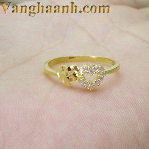 Nhẫn vàng tây tặng người yêu-2